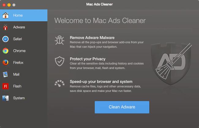 remove Mac Ads Cleaner