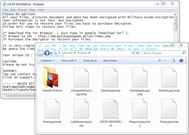 LockyLocker ransomware
