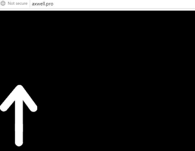 Delete Axwell.pro pop-ups