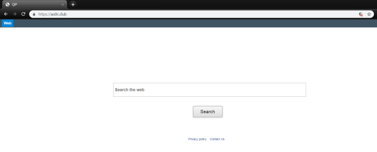 Delete http://ao0c.club/ virus from Mac