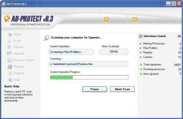 AdProtect screenshot