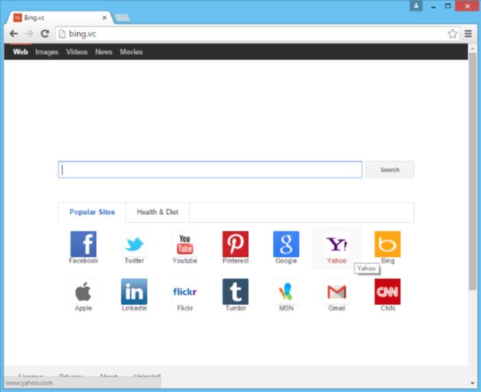 Bing.vc page