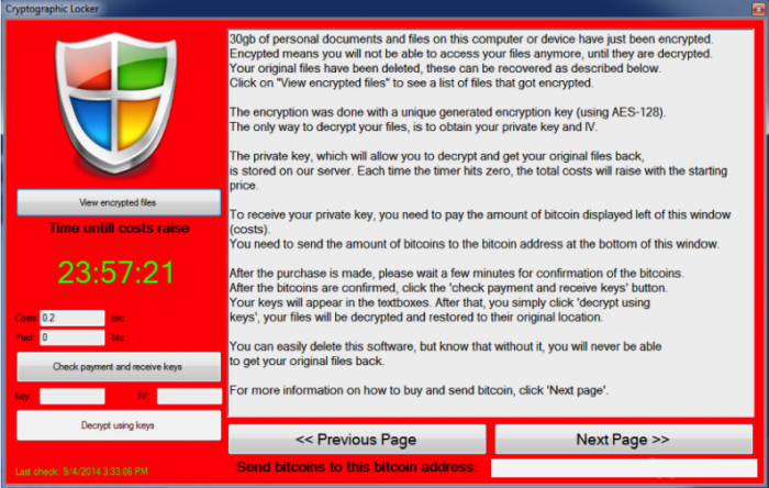 How To Remove Cryptolocker Ransomware And Decrypt