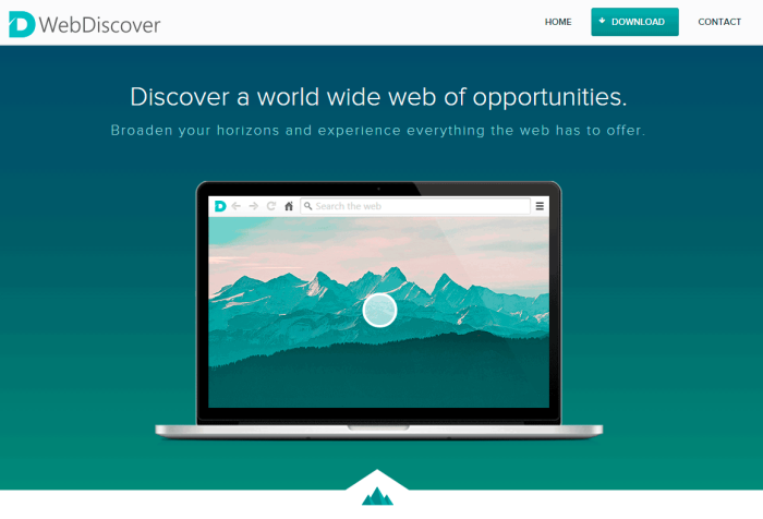 WebDiscover download page
