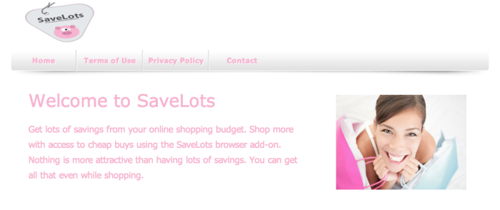 SaveLots download page
