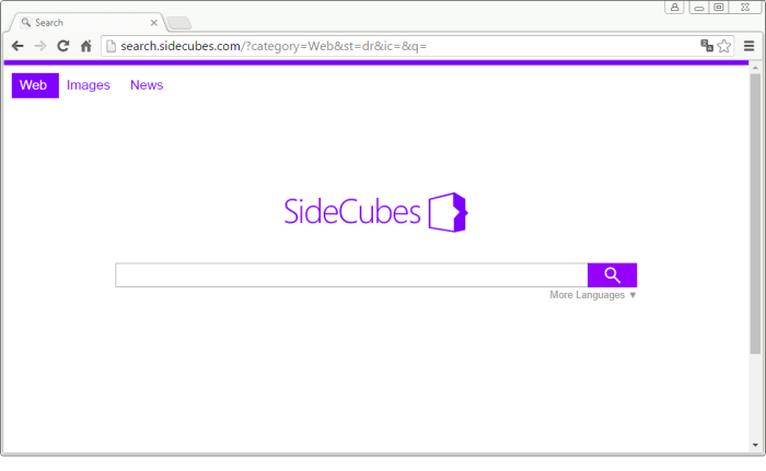 Search.sidecubes.com page