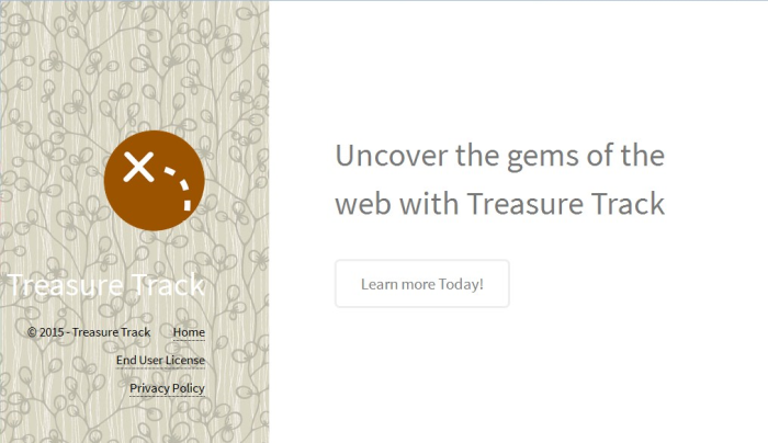 Treasure Track page