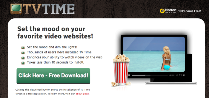 remove TV Time