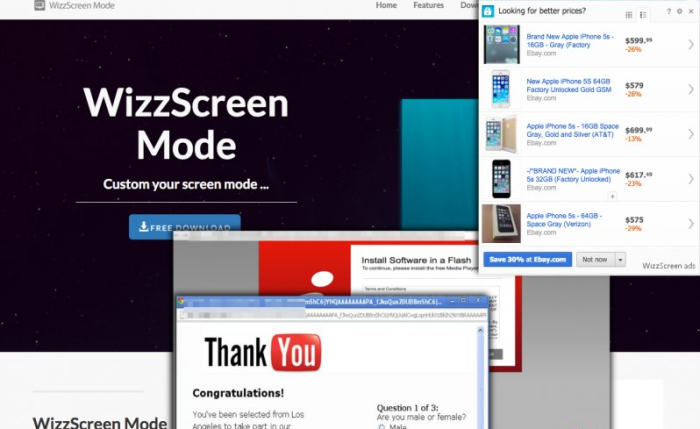 WizzScreen ads