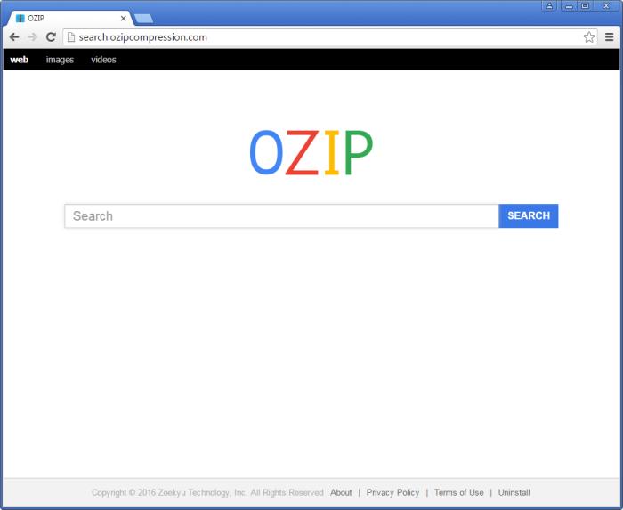Search.ozipcompression.com page