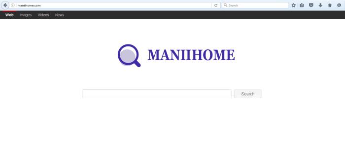 Maniihome.com page