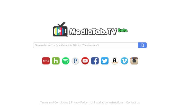 Search.mediatab.tv page