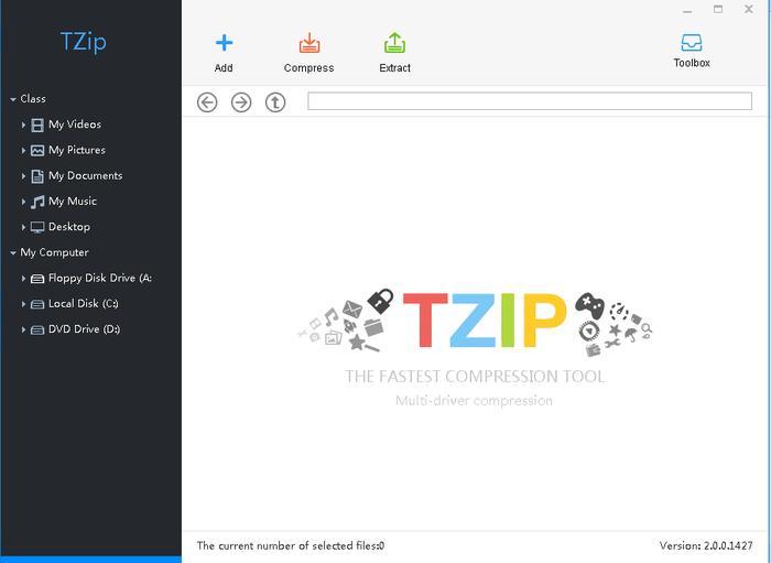 TZip GUI