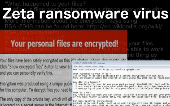 How to remove Zeta ransomware and decrypt files - CureYourSystem