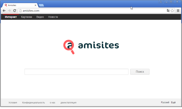 Amisites.com page