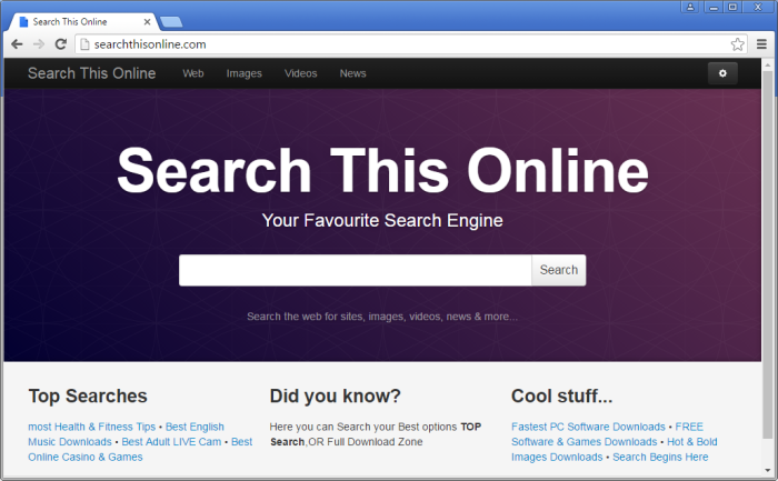 Searchthisonline.com page