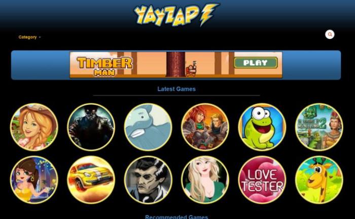 YayZap site