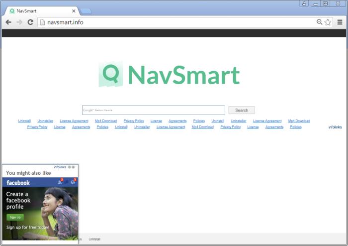 Navsmart.info page