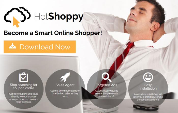 HotShoppy page