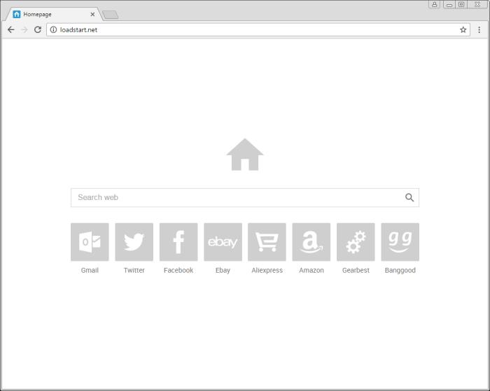 loadstart.net page