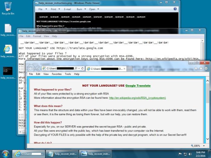 HCrypto ransomware notes