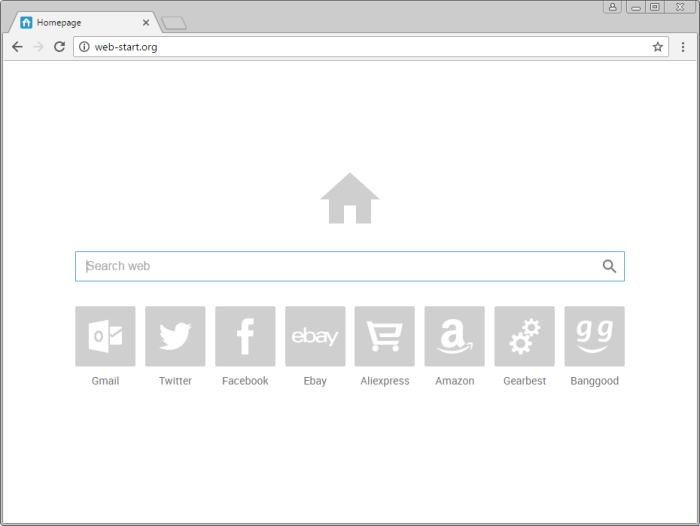 Web-start.org page