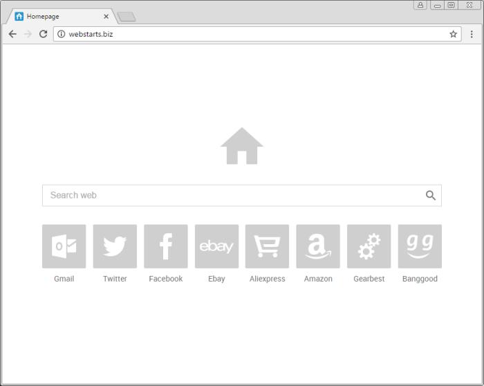 Webstarts.biz page