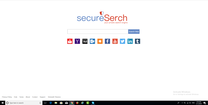 Secureserch.com page