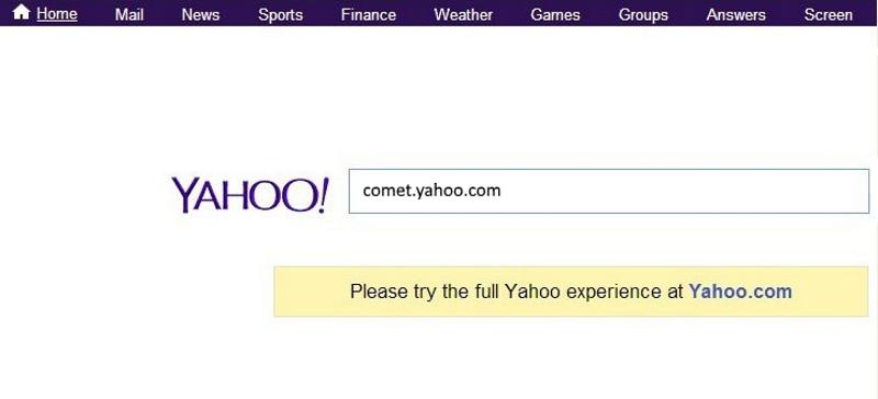 En attente de page comet.yahoo.com