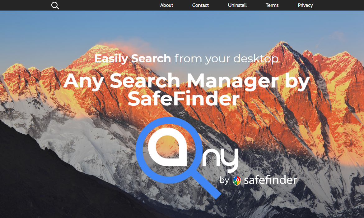 remove Any Search Manager (Mac)