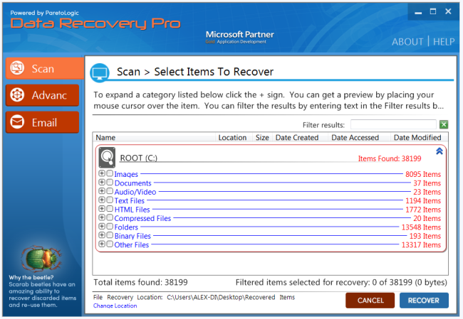 data recovery pro tool