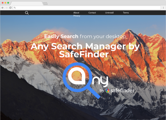 AnySearchManager page