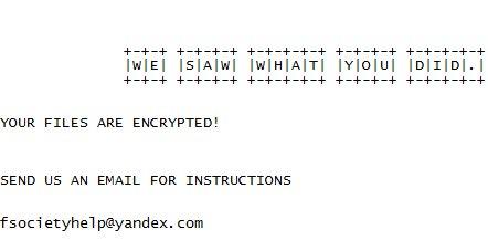 ShutUpAndDance ransomware