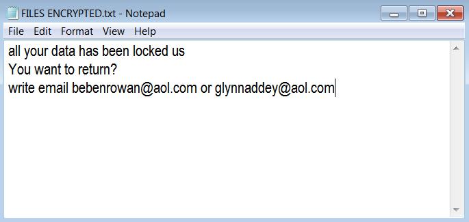 Gamma ransomware