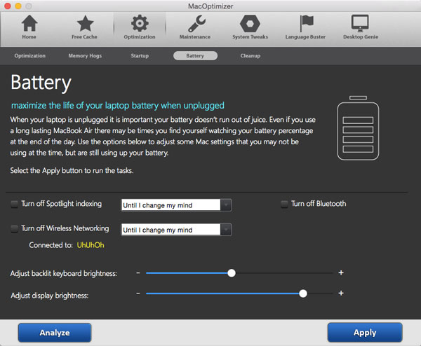 supprimer Mac Optimizer