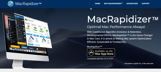 remove MacRapidizer