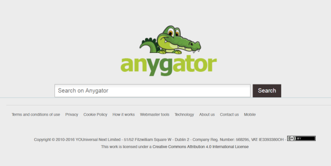 Search.anygator.com