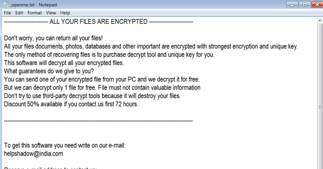 How to uninstall Djvu Ransomware and decrypt  djvu files