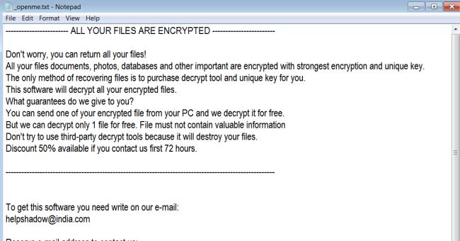 ransomware Djvu