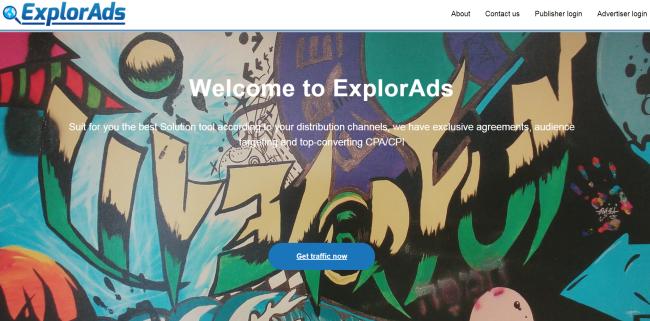 Xml.explorads.com page