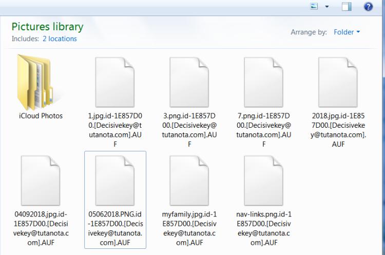 AUF ransomware