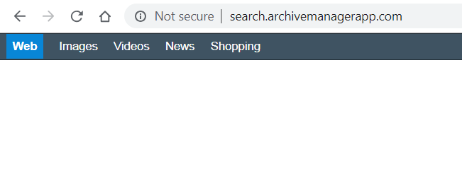 Search.archivemanagerapp.com page