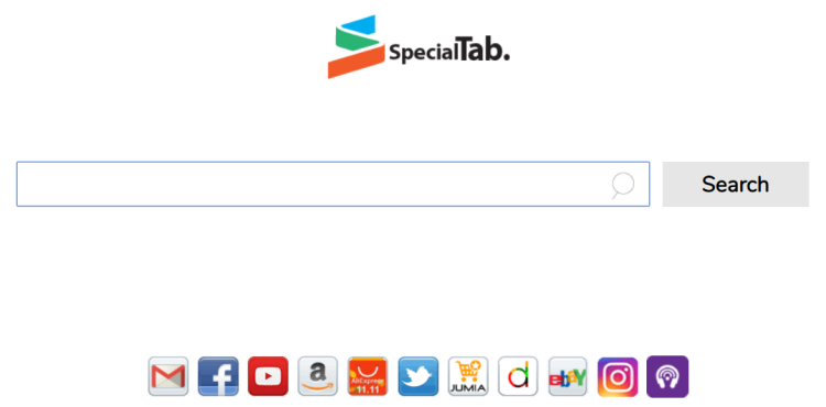 delete search.Home.specialtab.com, e-mail virus accès facile