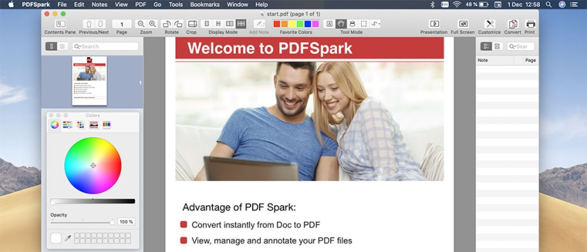 Delete http://PDFSpark/ virus from Mac