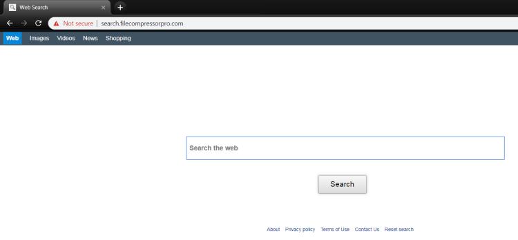 Delete http://Search.filecompressorpro.com/ virus from Mac