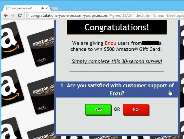 Delete http://Congratulations-you-won.com-yourprize.com.com/ virus from Mac