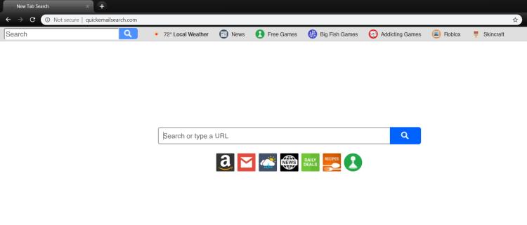 delete Quickemailsearch.com virus