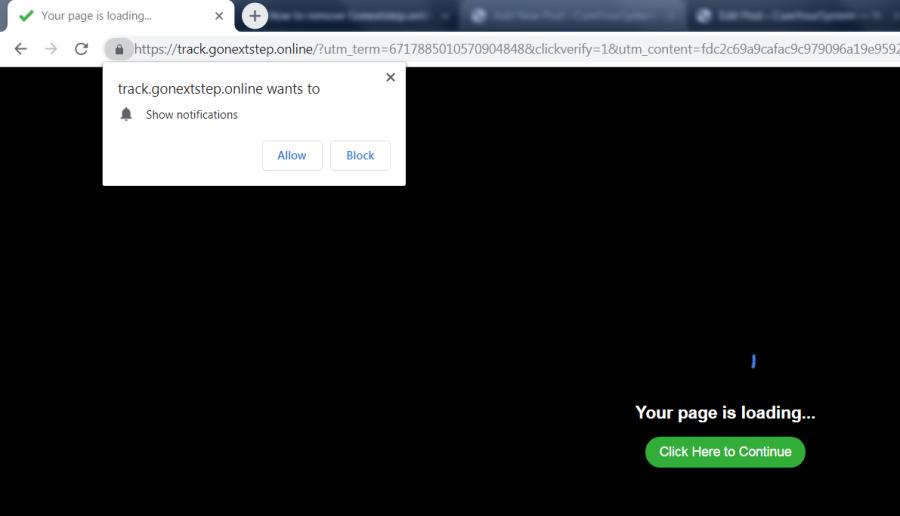 excluir https://Gonextstep.online, p8.Gonextstep.online, p7.Gonextstep.online, w986.Gonextstep.online, h64r.Gonextstep.online, sphy.Gonextstep.online, oz4x.Gonextstep.online, n9m9.Gonextstep.online virus notifications