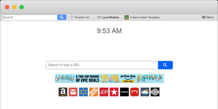 eliminar http://Templatehub.co/ virus from Mac