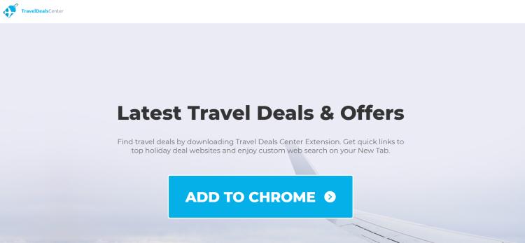 delete TravelDealsCenter virus